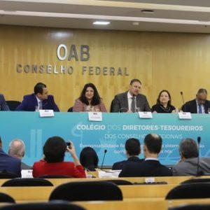 Colégio de diretores-tesoureiros da OAB discute desafios e boas práticas de gestão