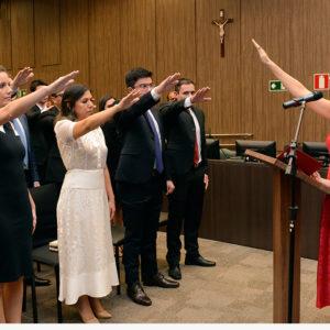 Setenta juízes tomam posse no TJMG