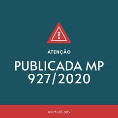 MP 927 de 22/03/2020