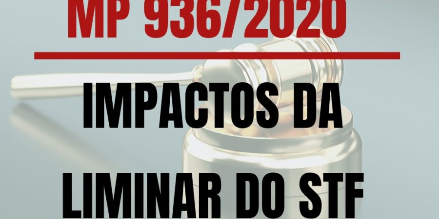 MP 936/2020 – IMPACTOS DA LIMINAR DO STF