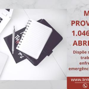 MEDIDA PROVISÓRIA Nº 1.046, DE 27 DE ABRIL DE 2021