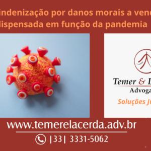 Negada indenização por danos morais a vendedora dispensada em função da pandemia